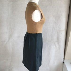 Anthropologie Dresses - Tibi Wool Blend Dress 2/4 Retro Colorblocked Dress